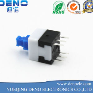 7*7mm Self-Locking Switch Push Button Switch pictures & photos