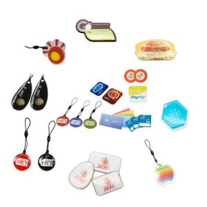 Mini Shape Epoxy RFID Tk4100 Tag for Metro Entrance pictures & photos