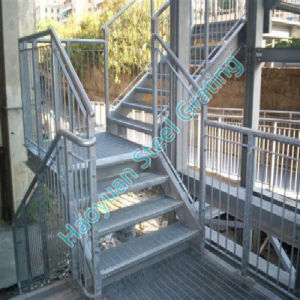 Different Applications of Steel Grating Stair Tread Series Nine pictures & photos