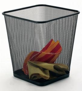 Metal Home Organization Waste Bin pictures & photos