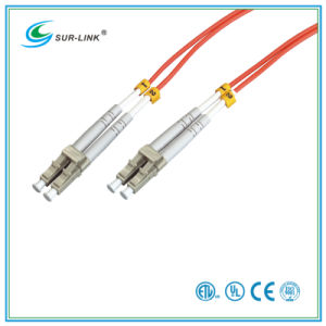 Fiber Optic Patch Cord LC-LC Multi Mode Duplex with Clips pictures & photos