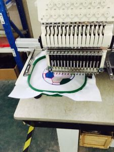 Hye-T1504/400*450 Cap. T-Shirts Embroidery Machine pictures & photos