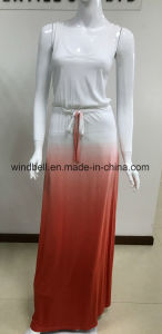 Long Dress for Women with Tie Dye pictures & photos