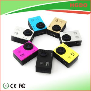 Lowest Price 1080P Actoin Camera Yellow Color pictures & photos