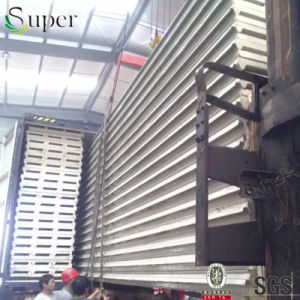 Heat Insulated Interior PU Polyurethane Sandwich Panels pictures & photos