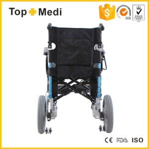 Folding Lithium Battery Electric Motor Powered Wheelchair pictures & photos