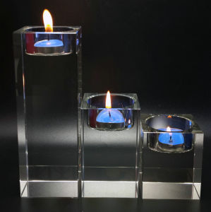 Glass Tea Light Crystal Candle Holder for Home Goods pictures & photos