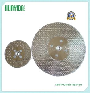 Electroplated Diamond Blade for Cutting Glass and Stone