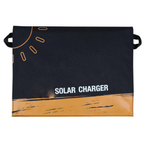 11W Fast Dual USB Ports Sun Power Charger Foldable Solar Charger pictures & photos