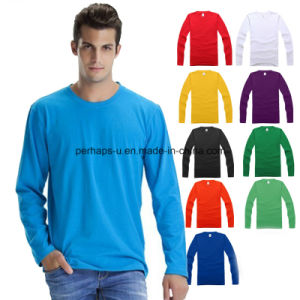 Fashion Customized Printing Men T-Shirt Work Wear Round Neck pictures & photos