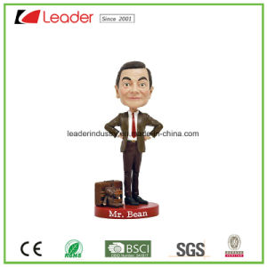 Customized Crafts Polyreisn Mr. Bean Bobblehead Figurines for Souvenir Gifts and Home Decoration pictures & photos