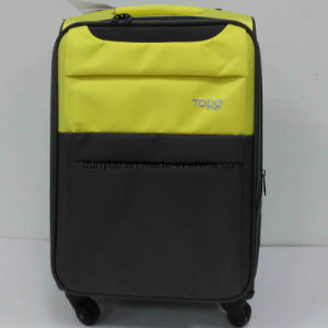 "China Manufacturer Portable Oxford Fabric 16"", 20"", 24"", 28"" Universal Wheels Travel Rolling Luggage Case Set, OEM Colour and Size Trolley Bag pictures & photos"