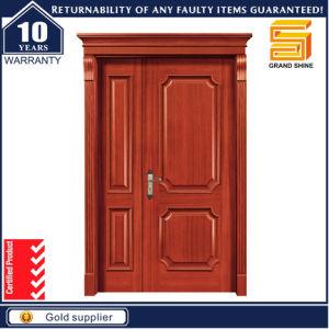 Exterior Fireproof Teak Wood Veneer Composite Wooden Main Door Designs pictures & photos