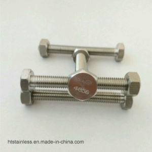 Inconel 625 2.4856 Uns N 06625 Hex Head Bolt pictures & photos