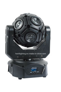 12*10W RGBW 4in1 Mutil LED Football Moving Head with Beam for Stage pictures & photos
