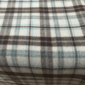 Stock Wool Fabric Check Double Face pictures & photos