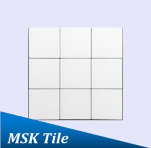 "4X4""Matt White Glazed Porcelain Floor and Wall Tile pictures & photos"