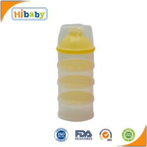 4 Layers Formula Dispenser BPA-Free Baby Food Storage for Milk Powder