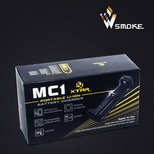 Universal Xtar Mc1 USB External Laptop Battery Charger for 10440 14500 16340 18350 18650 26650 Li-ion Rechargeable battery