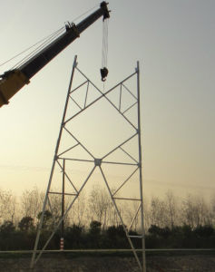 110kV 132kV Electric Power Transmission Steel Tower pictures & photos