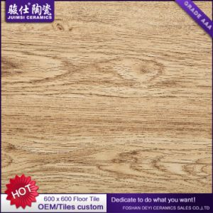 China Manufacturer 3D Floor 600X600 Wood Look Ceramic Tile Porcelain Floor Tile Rustic Tile pictures & photos