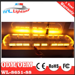 24V LED Emergency Green Red Blue White Police Traffic Warning Lightbar pictures & photos