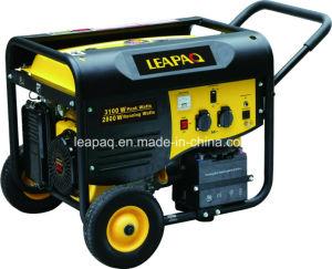 2.8kw Wheels & Handle P-Type Portable Gasoline Generator pictures & photos