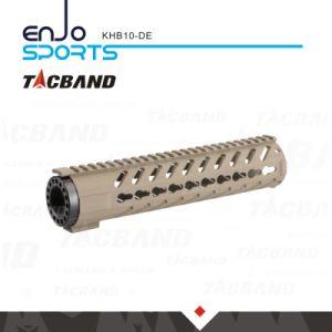 Super Light-Weight Free Float Keymod 10 Inch Handguard Rail W/Picatinny Top Rail Flat Dark Earth pictures & photos