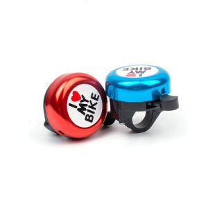 Colorful I Like My Bike Bicycle Mini Bell (HEL-220) pictures & photos