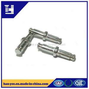 Bolt Sleeve Yellow Zinc Bolt Shaped Pin Fastener pictures & photos