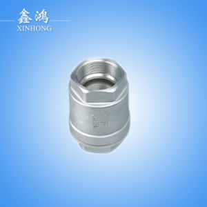 304 Stainless Steel Vertical Check Valve Dn40 1-1/2′′ pictures & photos