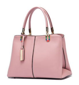 Fashion Style Simple Ladies Bag PU Women Handbags pictures & photos