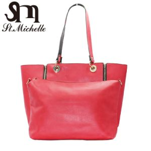Young Ladies Fashion PU Handbags with Simple Style pictures & photos
