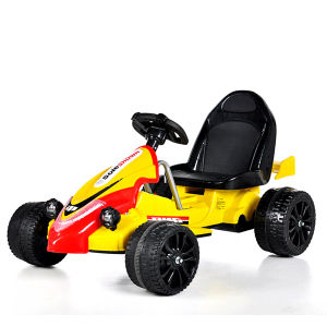 Electric Ride-on Children′s Toy Car- Yellow Kart pictures & photos