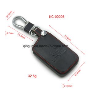 Custom Car Key Holder with Custom Emboss Logo and Button, Good Quality Key Wallet, Key Case pictures & photos