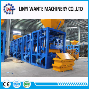 Qt4-24 Semi-Automatic Molding Machine/Concrete Block Making Machine pictures & photos