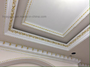 White Color Polyurethane Interior Decoration Moulding for Ceiling pictures & photos