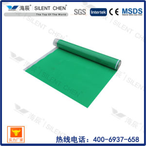 Silent Crossed-Linked IXPE Foam Underlay with PE Film (IXPE20-4) pictures & photos