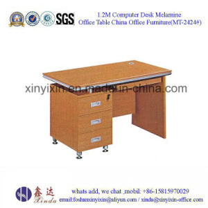 Malaysia Wooden Furniture Low Price Office Computer Desk (MT-2426#) pictures & photos