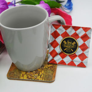 Square Type Picture Cork Coaster pictures & photos