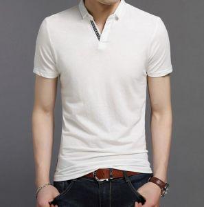 Guangzhou Factory Custom Made Cotton Pique Men Polo Shirts pictures & photos