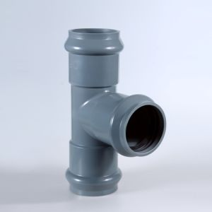 PVC Pipe Fitting Faucet and Insert Regular Tee pictures & photos