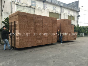 Poultry Brown Cooling Pad and Fan Wet Cellulose Evaporative Cooling Pad pictures & photos