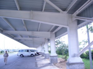 High Quality Steel Structure Car Garage pictures & photos