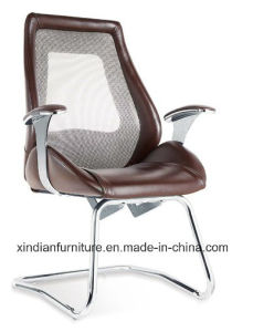 Xindian modern Chrome Frame PU Fixed Office Chair (D9096) pictures & photos
