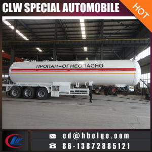 3axles 20mt 50000L LPG Trailer Tank Liquid Gas Tanker Semitrailer pictures & photos