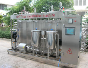 Uht Pasteurizer Milk Sterilizer Pasteurizer Machine Uht Sterilizer Tubular Sterilizer pictures & photos