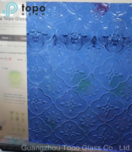 Tinted Blue, Bronze, Yellow, Red, Clear Flora Figured Patterned Glass (FP-TP) pictures & photos