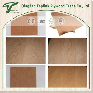 Red Oak Fancy Plywood for Decoration & Furniture pictures & photos