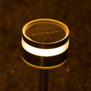 Outdoor Plastic Ss Solar Lawn Light LED Garden Park Path Light pictures & photos